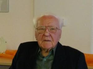 Hubert Eschbach trat mit 100 in die AfD ein