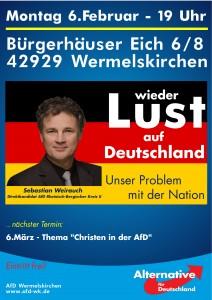 Sebastian Weirauch, unser Direktkandidat für die NRW-Wahl für den Rheinisch-Bergischen Kreis II