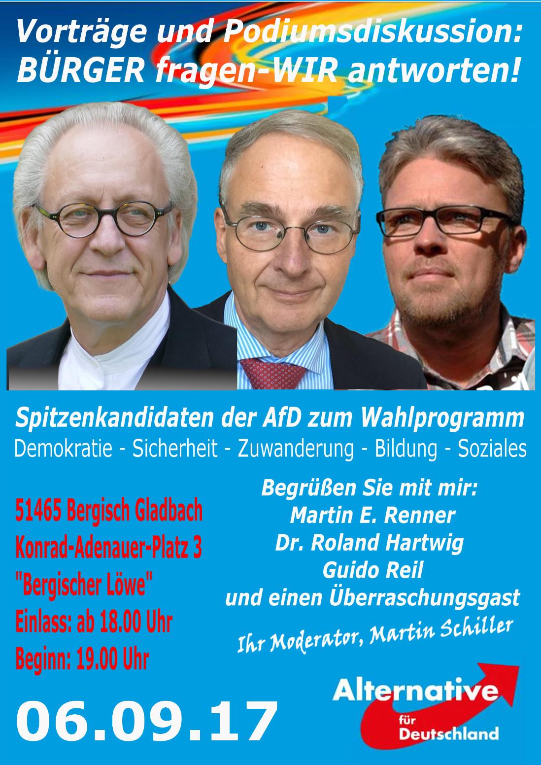 Vortrag Bergisch Gladbach
