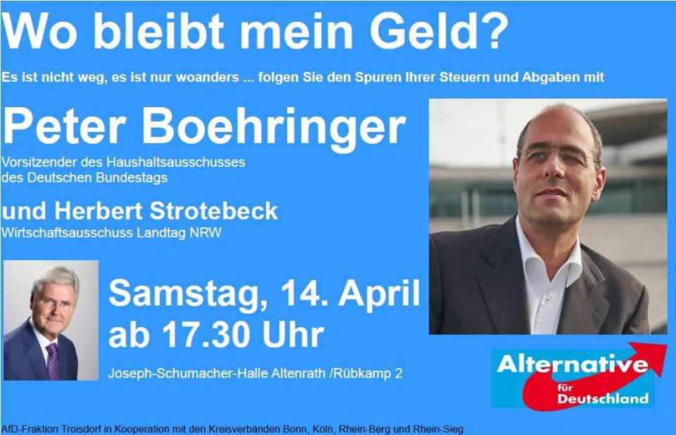 Boehringer Veranstaltung