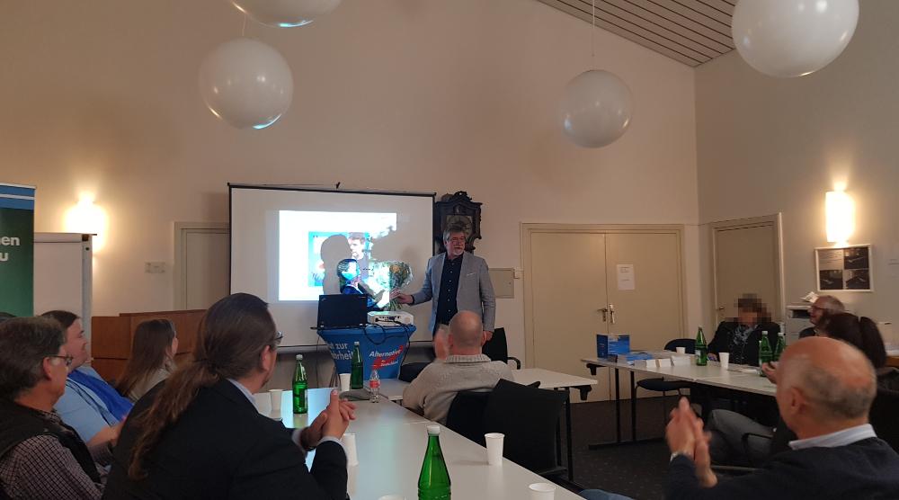 Infoabend des Stadtverbands Brühl mit Dr. Verena Wester